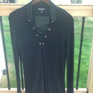 Juicy Couture Long sleeve Black Dress Size S